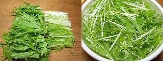 パリ麺サラダで作る水菜と彩り野菜の生春巻き1.JPG