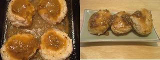 鶏つくね団子のカレー炒め作り方2.JPG